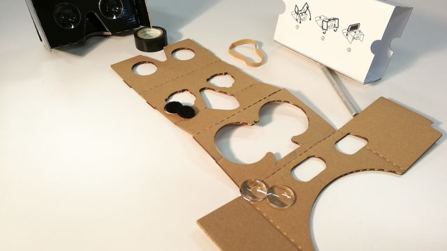 Atelier casque de réalité virtuelle Google Cardboard